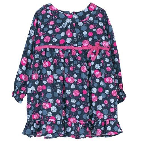 Платье COCCODRILLO LITTLE REBEL размер 86, розовый/черный
