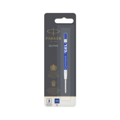 Купить Стержень для шариковой ручки PARKER Quink Gel Z05 M (1 шт.) синий, Стержни, чернила для ручек