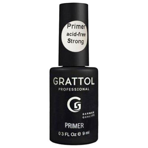 Grattol Праймер для ногтей бескислотный Strong 9 мл
