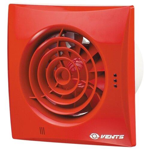 Вытяжной вентилятор VENTS 100 Квайт, красный 7.5 Вт вытяжной вентилятор vents 100 квайт красный 7 5 вт