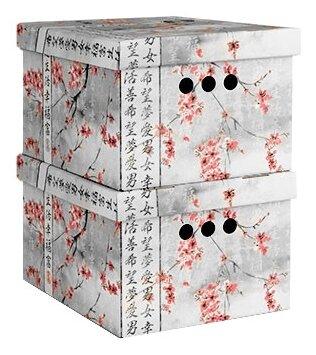 Купить Valiant Набор короб картонный складной малый BCTN-2S серый/красный по низкой цене с доставкой из Яндекс.Маркета (бывший Беру)