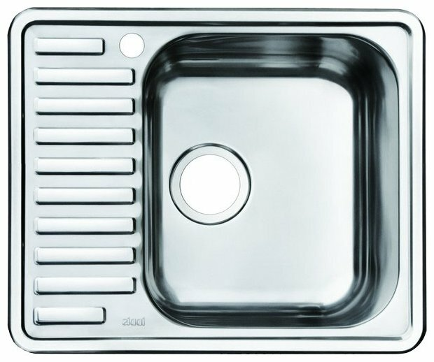 Врезная кухонная мойка IDDIS Strit STR58SRi77 58.5х48.5см