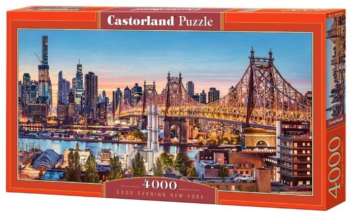 Пазл Castorland Good Evening New York (C-400256), 4000 дет.