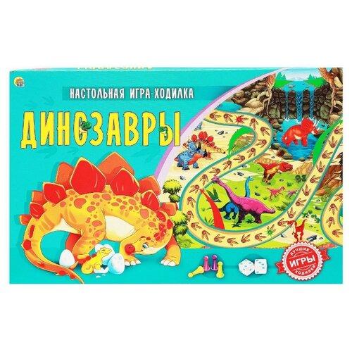 Купить Настольная игра Рыжий кот Динозавры ИН-9943, Настольные игры