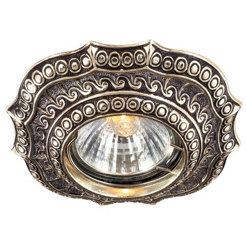 Встраиваемый светильник Novotech Vintage 369857 novotech встраиваемый светильник vintage 370180