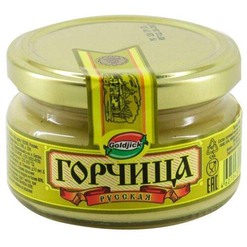 Горчица Goldjick Русская, 120 гГорчица и хрен<br>