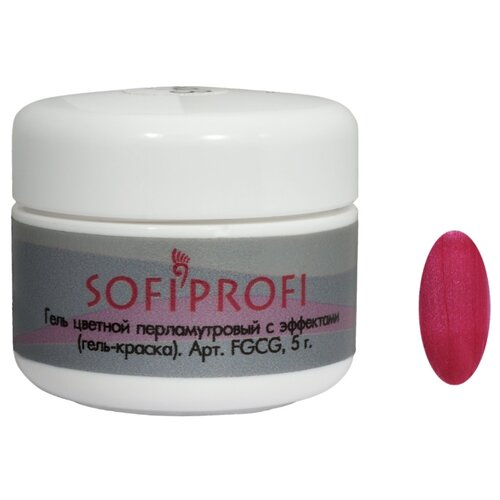 Краска Sofiprofi перламутровая с эффектами 101Краски<br>
