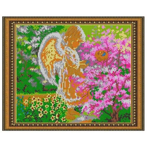 Светлица Набор для вышивания бисером Ангелочек 30 x 24 см, бисер Чехия (464П)