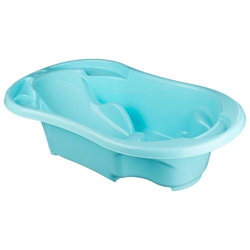 Купить Анатомическая ванночка Tega Baby Komfort (TG-011) светло-голубой, Ванночки