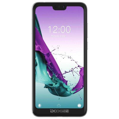 Смартфон DOOGEE Y7 черный обсидиан смартфон doogee x11 1 8gb черный