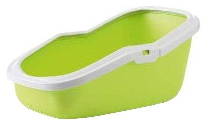 Туалет-лоток для кошек SAVIC Aseo 56х39х27.5 см зеленое яблоко
