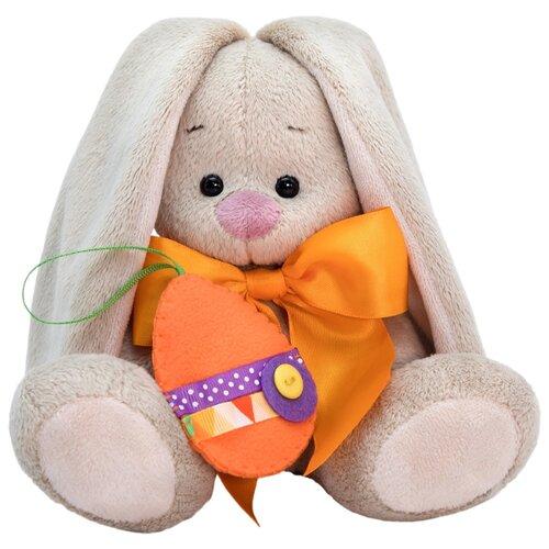 Купить Мягкая игрушка Зайка Ми c оранжевым бантиком 15 см, Мягкие игрушки