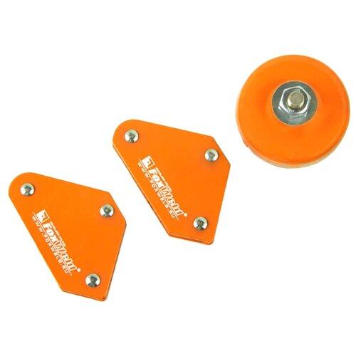 Магнитный угольник FoxWeld MULTI-3 оранжевый магнитный угольник start sm1603 75 lbs красный