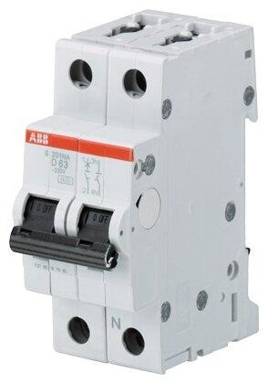 Автоматический выключатель ABB S201M 1P+N (D) 10kA