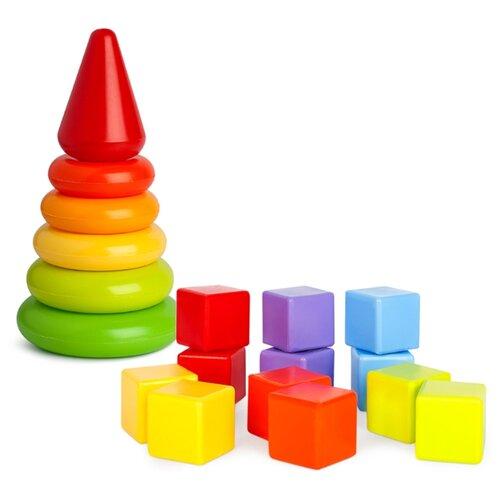 Купить Кубики Росигрушка Радуга 5014, Детские кубики