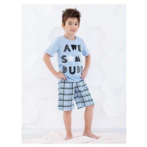Пижама RICH LINE размер 98, голубой