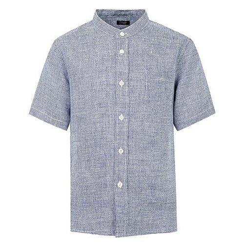 Купить Рубашка Il Gufo размер 140, синий, Рубашки