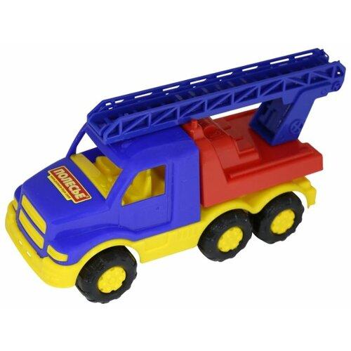 Пожарный автомобиль Полесье Гоша (35226) 28 см синий/желтый/красный
