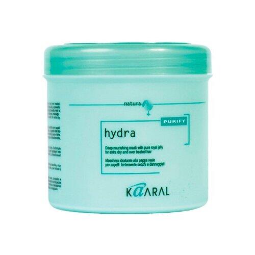Kaaral Purify Hydra Интенсивная увлажняющая питательная маска для волос, 500 мл coiffance professionnel маска интенсивная питательная для окрашенных волос 500 мл