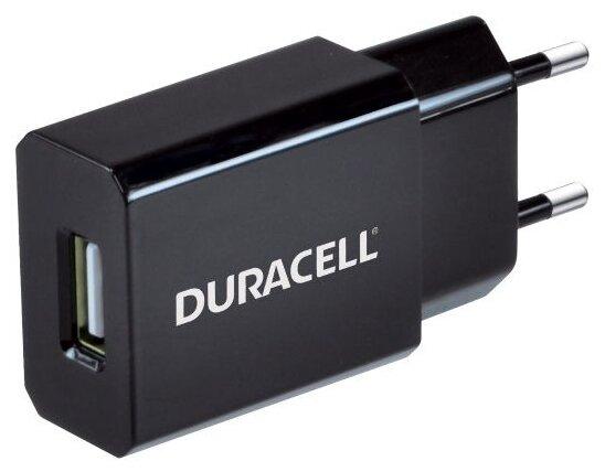 Сетевая зарядка Duracell DRACUSB3 черный