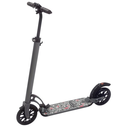 Городской самокат Indigo City IN051 серый коляска 3 в 1 indigo indigo 18 special f sp 12 белая кожа