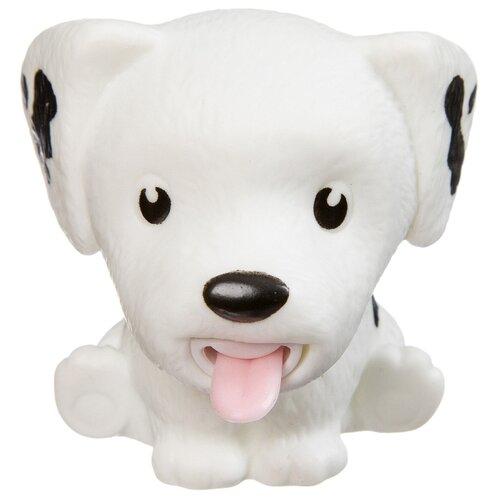 Купить Игрушка-мялка BONDIBON Покажи язык Белая собака, Игрушки-антистресс