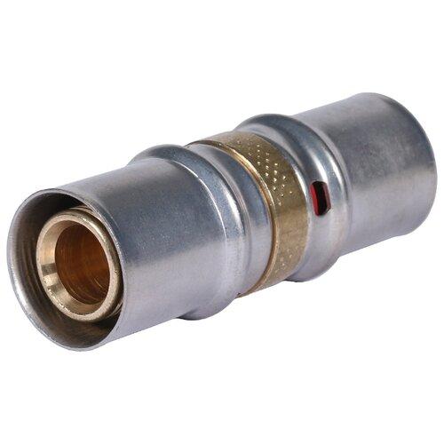 Фото - Муфта STOUT SFP-0003-002020 20x20 пресс 1 шт. муфта соединительная равнопроходная stout sfp 0003 002626 26х26 мм для металлопластиковых труб прессовая