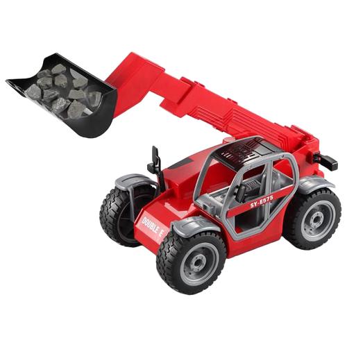 Купить Экскаватор Double Eagle E575-003 1:16 39.5 см красный, Радиоуправляемые игрушки