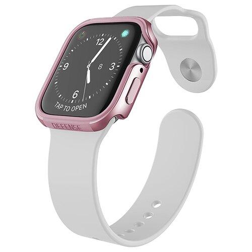 Чехол X-Doria Defense Edge для Apple Watch 40 мм rose gold