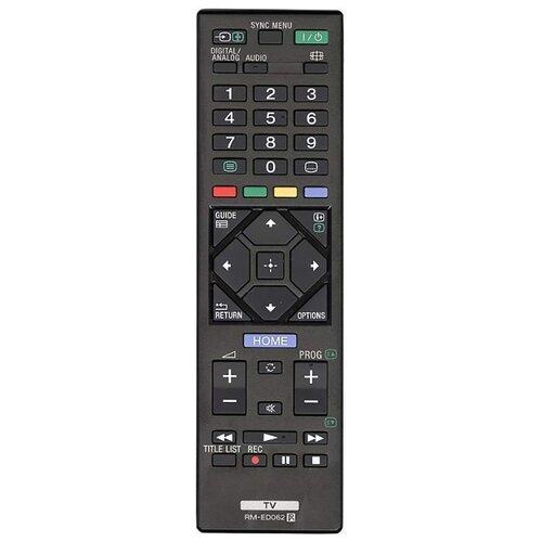 Фото - Пульт ДУ Huayu RM-ED062 для телевизоров Sony KDL-40R485B/KDL-32R435B черный пульт ду huayu rm l919 для lcd led tv samsung черный