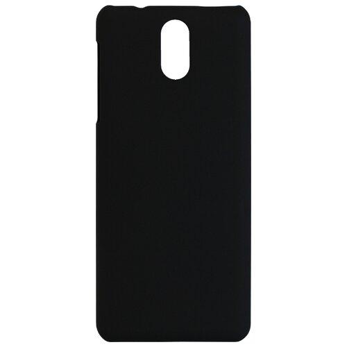 цена Чехол Volare Rosso Soft-touch для Nokia 3.1 2018 (пластик) черный онлайн в 2017 году