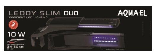 Светильник обычный 10 Вт AQUAEL LEDDY SLIM DUO SUNNY & PLANT 115550