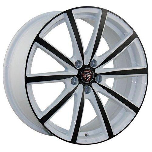 Фото - Колесный диск NZ Wheels F-50 7x17/5x110 D65.1 ET39 W+B колесный диск nz wheels sh663 7x17 5x110 d65 1 et39 bkfpl