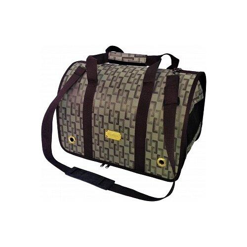 Переноска-сумка для кошек и собак LOORI Z2245 46х28х29 см коричневый переноска сумка для кошек и собак loori z8708 z8746 46х28х29 см розовый