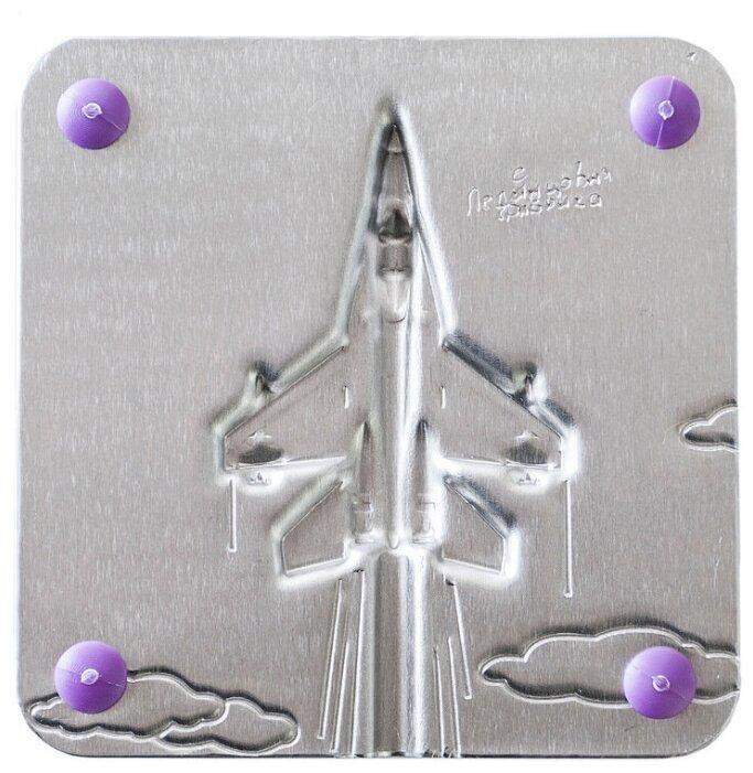 Форма для мороженого Леденцовая фабрика Самолетик (0016)