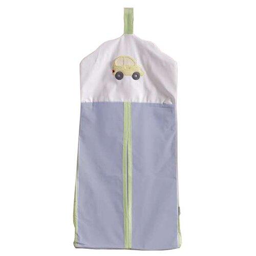 Kidboo Прикроватная сумка Traffic Jam голубой