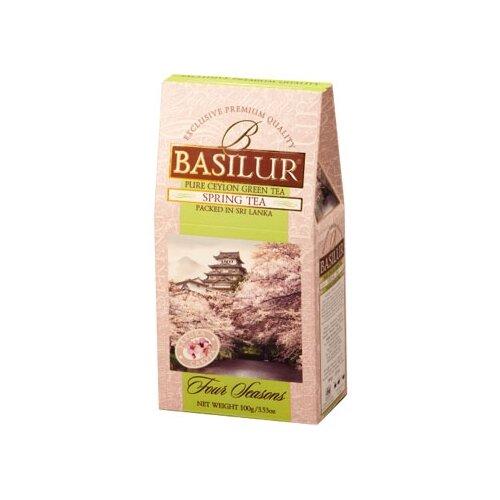Чай зеленый Basilur Four seasons Spring tea, 100 г