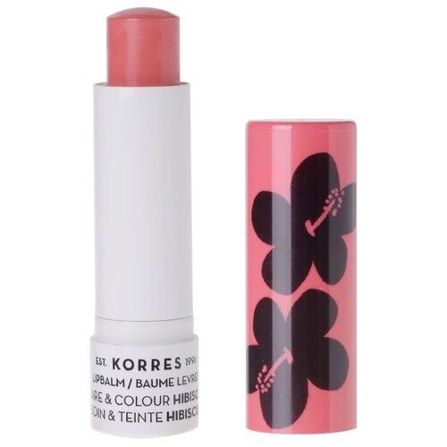 KORRES Бальзам-стик для губ Hibiscus косметика korres официальный