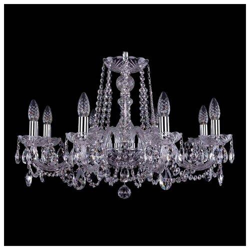 Люстра Bohemia Ivele Crystal 1402 1402/8/240/Ni, E14, 320 Вт люстра bohemia ivele crystal 1402 1402 8 195 g m711 e14 320 вт