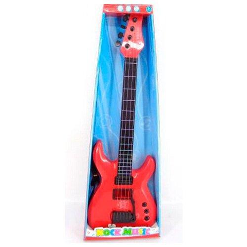 Junfa toys гитара 5599A-1 красный/черный junfa toys гитара 5599b 1 белый черный