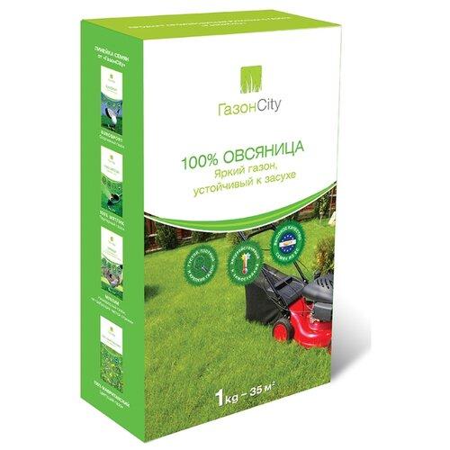 Семена ГазонCity Овсяница 100% Яркий газон, 1 кг фото