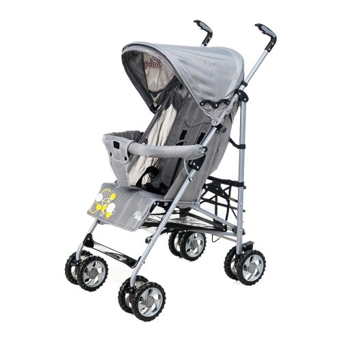 Купить Прогулочная коляска Liko Baby BT-109 City Style серый, Коляски