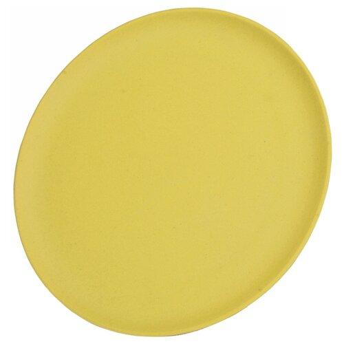 Фото - Fissman Тарелка плоская 28 см желтый fissman тарелка плоская 28 см