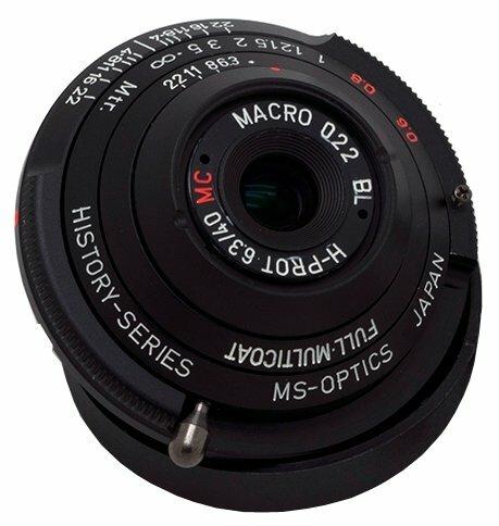 Объектив MS Optics 40mm f/6.3 MC Leica M