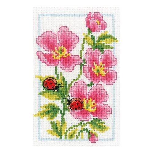 Набор для вышивания Розовая герань