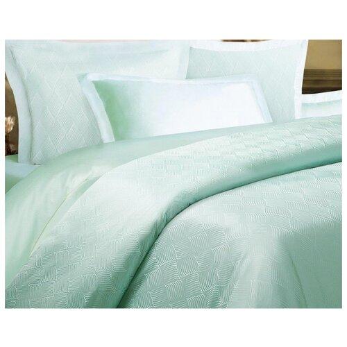 цена Постельное белье 2-спальное Mona Liza Royal Ромб мятный 5438/13 сатин-жаккард мятный онлайн в 2017 году