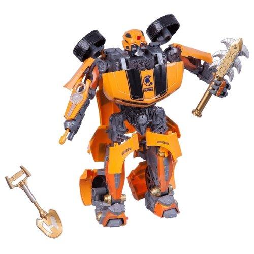 Купить Робот-трансформер Zhorya Авто-агент ZYA-A0906-2 желтый/серый, Роботы и трансформеры