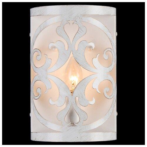цена на Настенный светильник Natali Kovaltseva Renaissance 10440/1W White Gold, 60 Вт