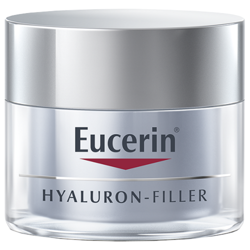 крем Eucerin Hyaluron-Filler ночной, 50 мл крем nivea hyaluron cellular filler ночной 50 мл