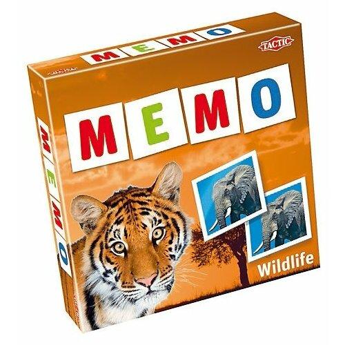 Настольная игра TACTIC Мемо: Дикие животные